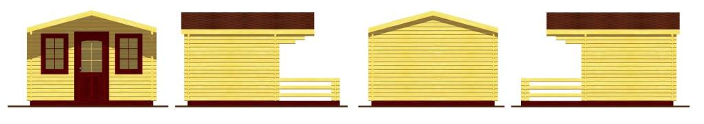 Wigry - Elewacje