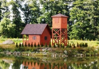 Dom drewniany parterowy Cis