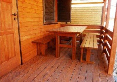 meble ogrodowe drewniane 2