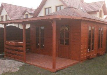 dom drewniany magnolia