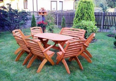 meble ogrodowe składane profilowe